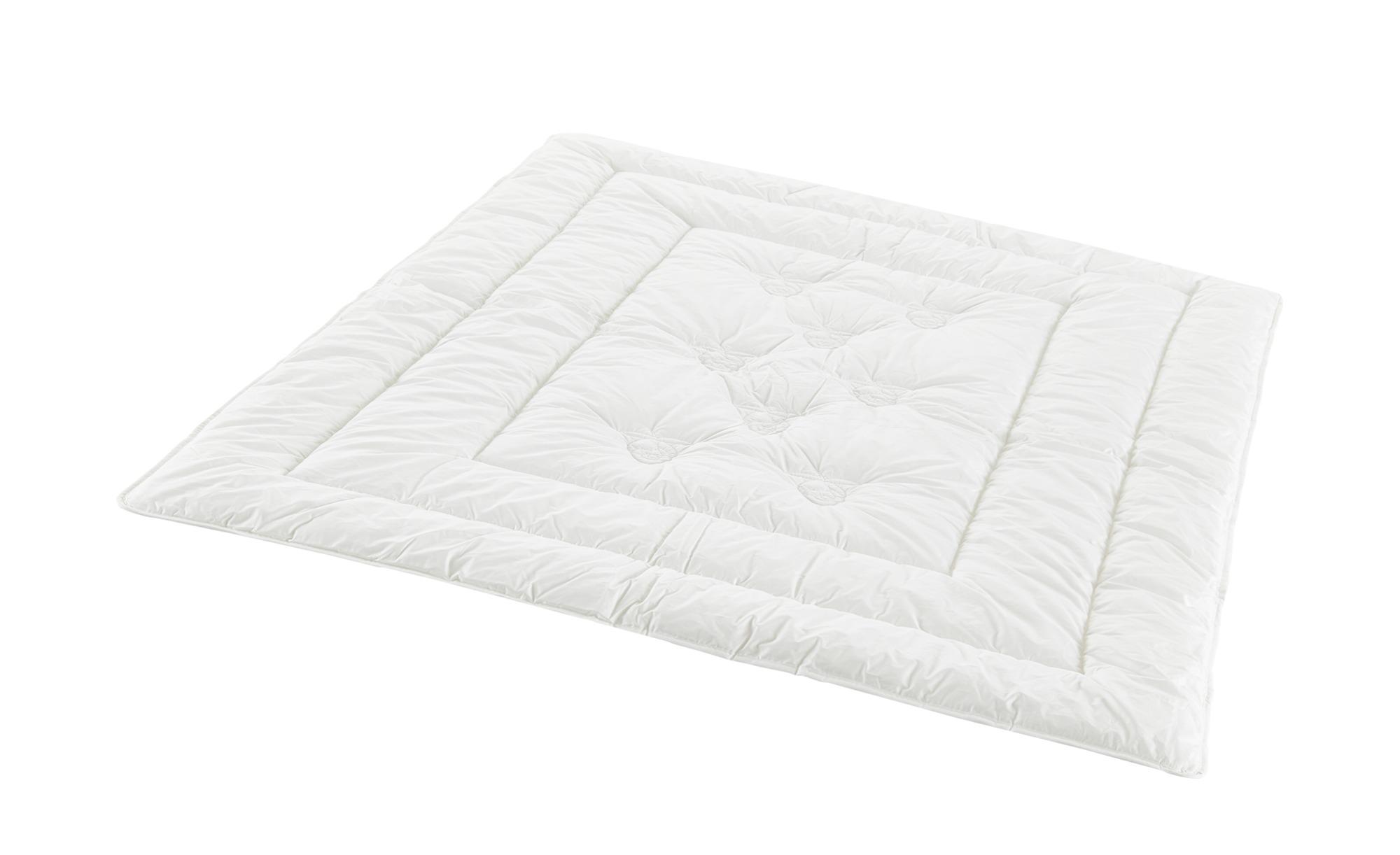 Schlafmond Sommer-Steppbett  Dornröschen ¦ creme ¦ Maße (cm): B: 200 Bettwaren > Bettdecken > Bettdecken in Übergrößen - Höffner