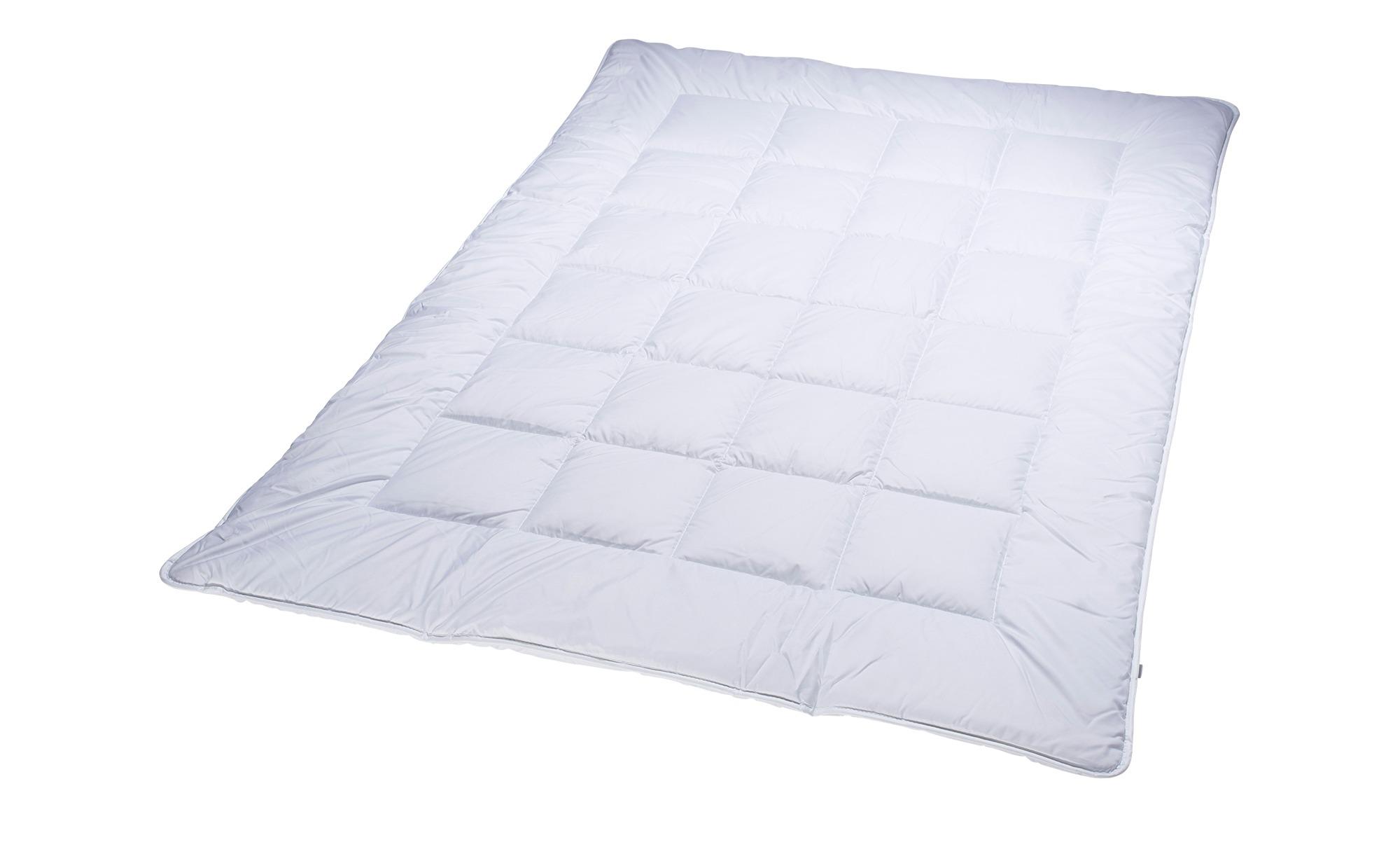 Billerbeck Sommer-Steppbett  Granat ¦ weiß ¦ Maße (cm): B: 155 Bettwaren > Bettdecken > Bettdecken in Übergrößen - Höffner