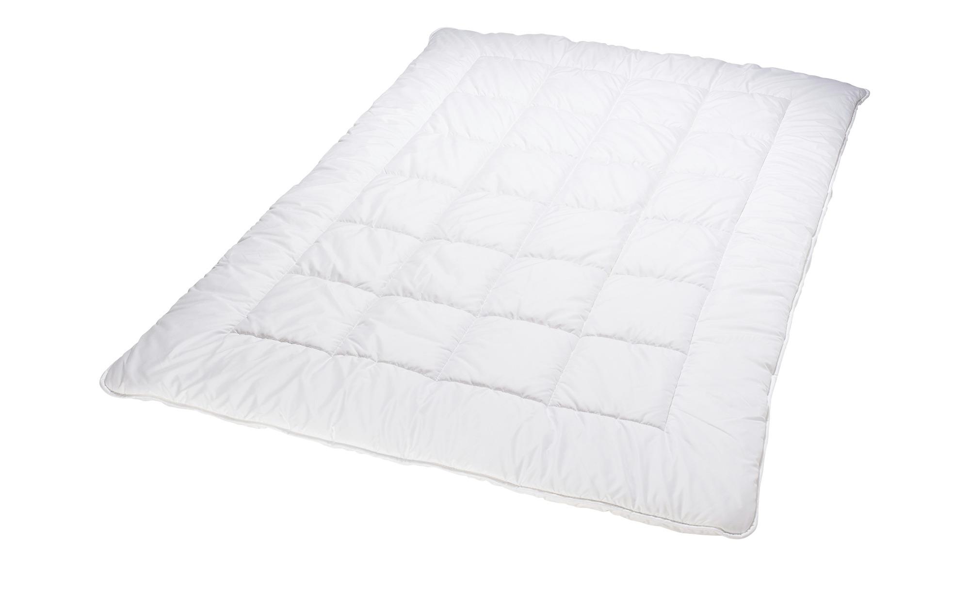 Billerbeck Duo-Steppbett  Granat ¦ weiß ¦ Maße (cm): B: 155 Bettwaren > Bettdecken > Bettdecken in Übergrößen - Höffner
