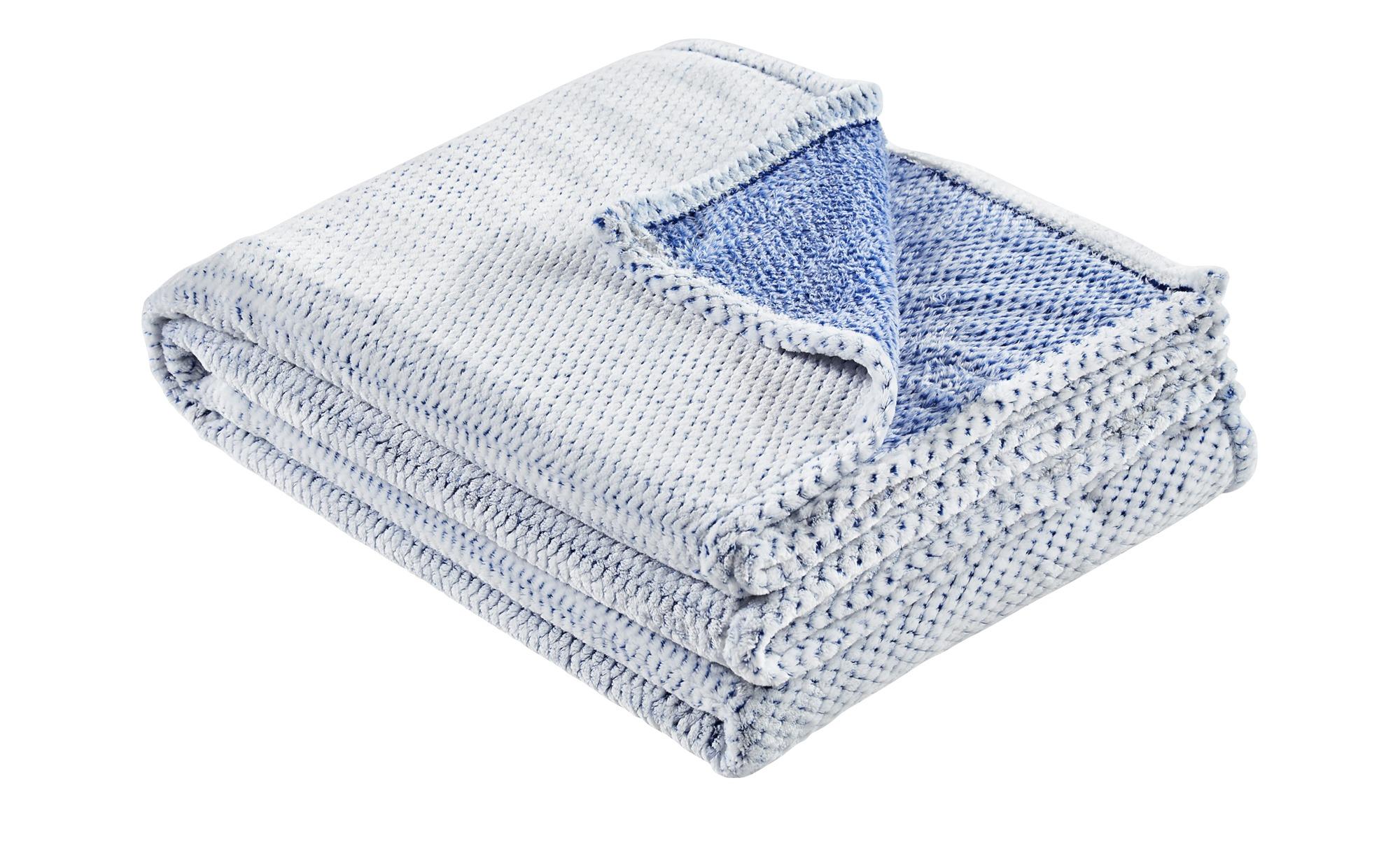 LAVIDA Coralfleecedecke Coralfleecedecke Mini Mi ¦ blau ¦ 100% Polyester  ¦ Maße (cm): B: 150 Heimtextilien > Kuscheldecken - Höffner