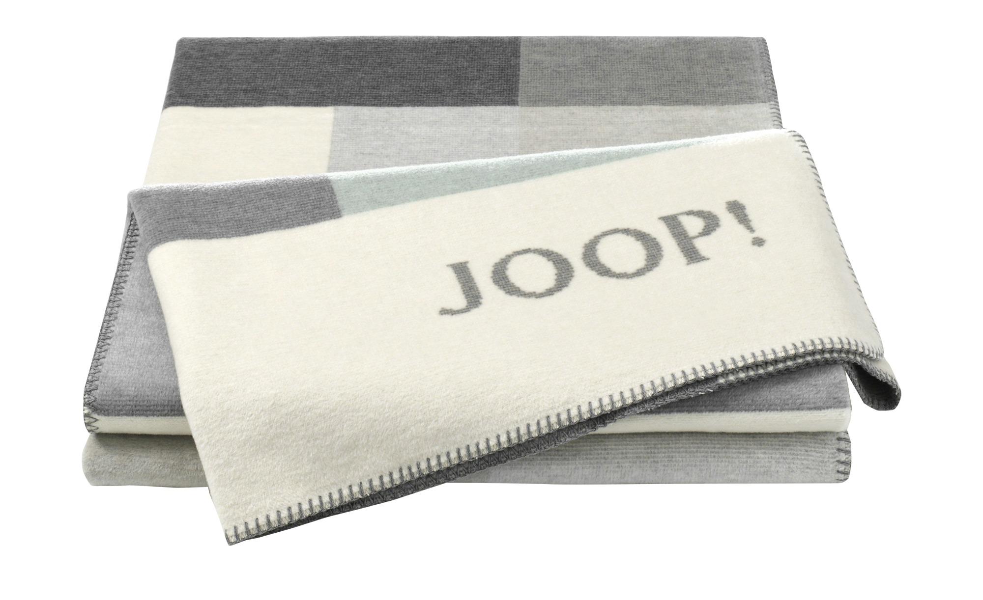 JOOP! Wohndecke  JOOP! Bold ¦ grün ¦ 58% Baumwolle, 35% Polyacryl, 7% Polyester ¦ Maße (cm): B: 150 Heimtextilien > Kuscheldecken - Höffner