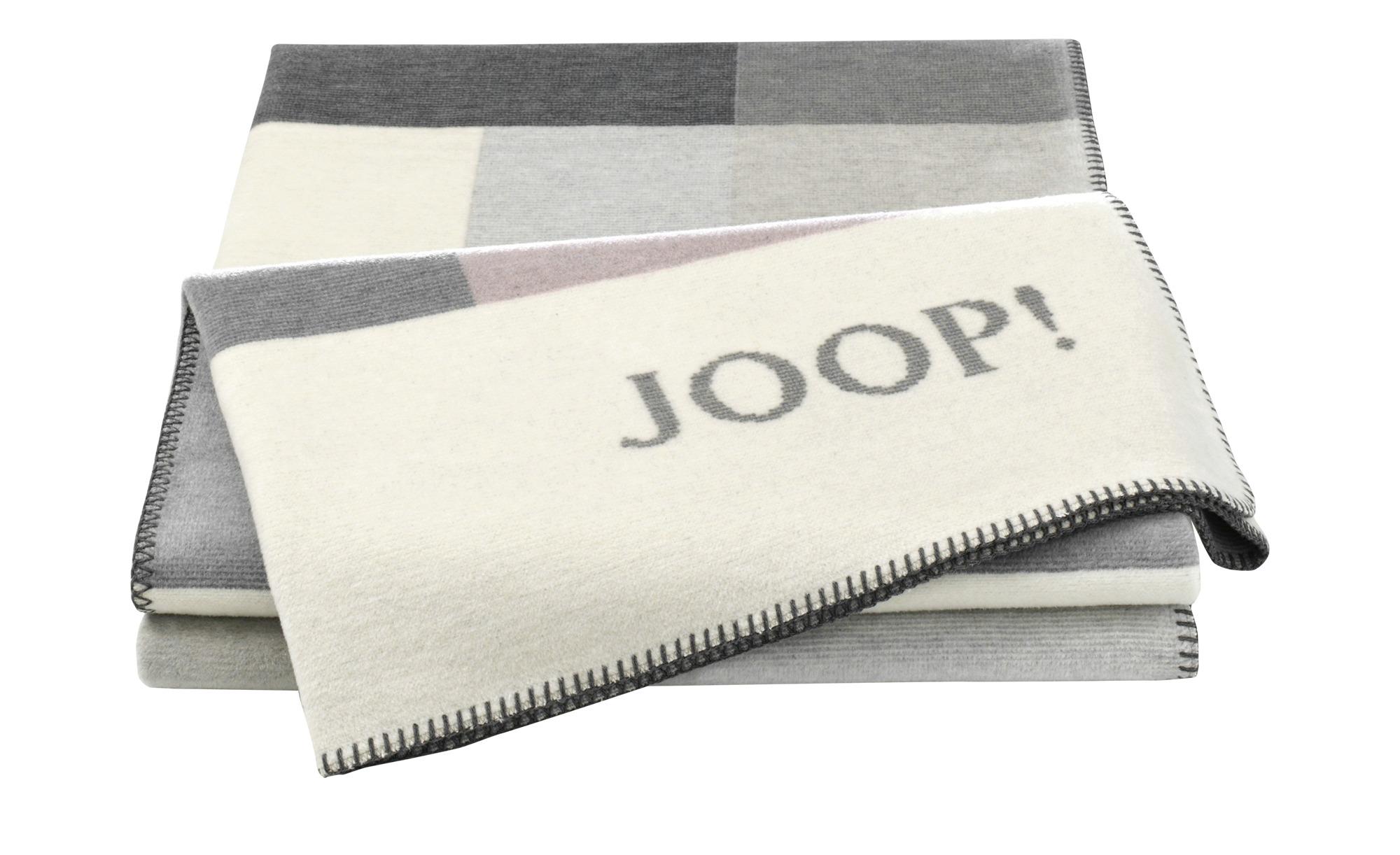JOOP! Wohndecke  JOOP! Bold ¦ rosa/pink ¦ 58% Baumwolle, 35% Polyacryl, 7% Polyester ¦ Maße (cm): B: 150 Heimtextilien > Kuscheldecken - Höffner