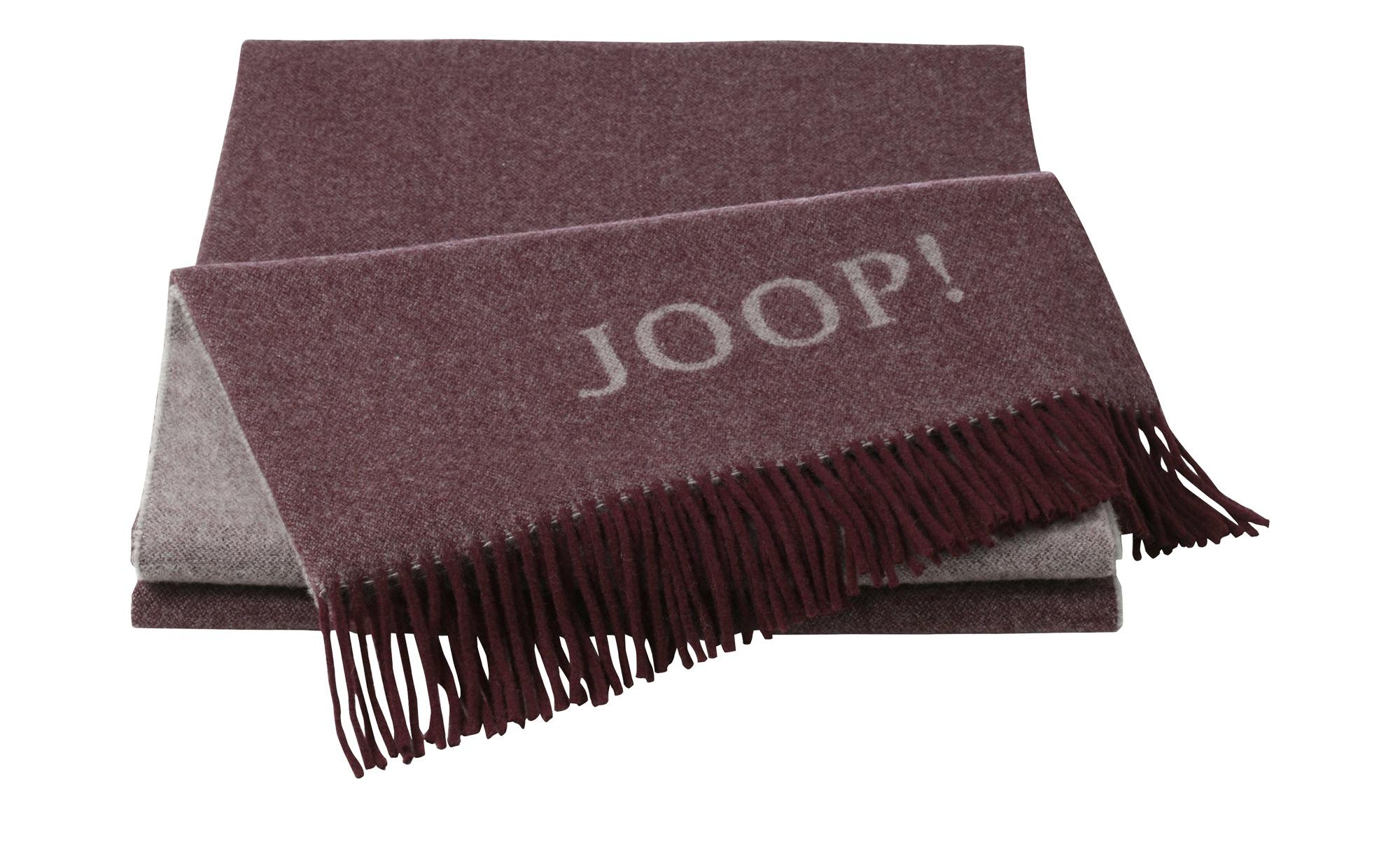 JOOP! Wohndecke  JOOP! Fine Doubleface ¦ rot ¦ 80% Wolle, 20% Kashmir ¦ Maße (cm): B: 130 Heimtextilien > Kuscheldecken - Höffner