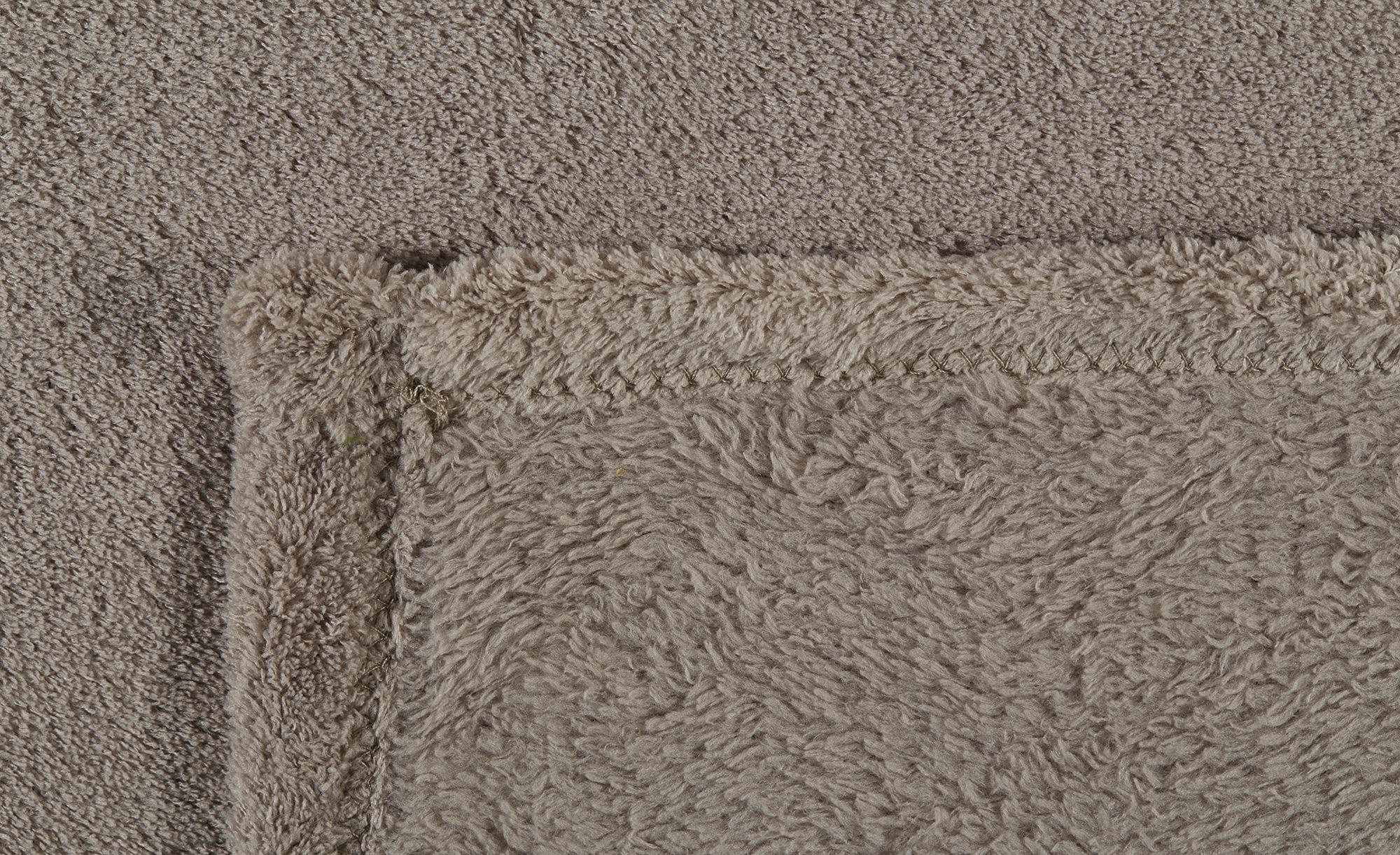 HOME STORY Coralfleecedecke  Emely ¦ beige ¦ Polyester, 100% Polyester ¦ Maße (cm): B: 150 Heimtextilien > Kuscheldecken - Höffner