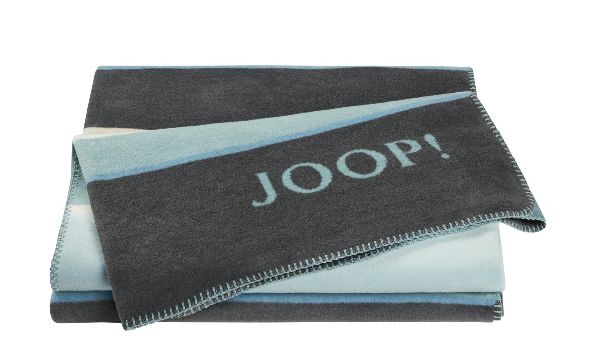 JOOP! Wohndecke  Joop!Bright ¦ blau ¦ Maße (cm): B: 150 Heimtextilien > Kuscheldecken - Höffner