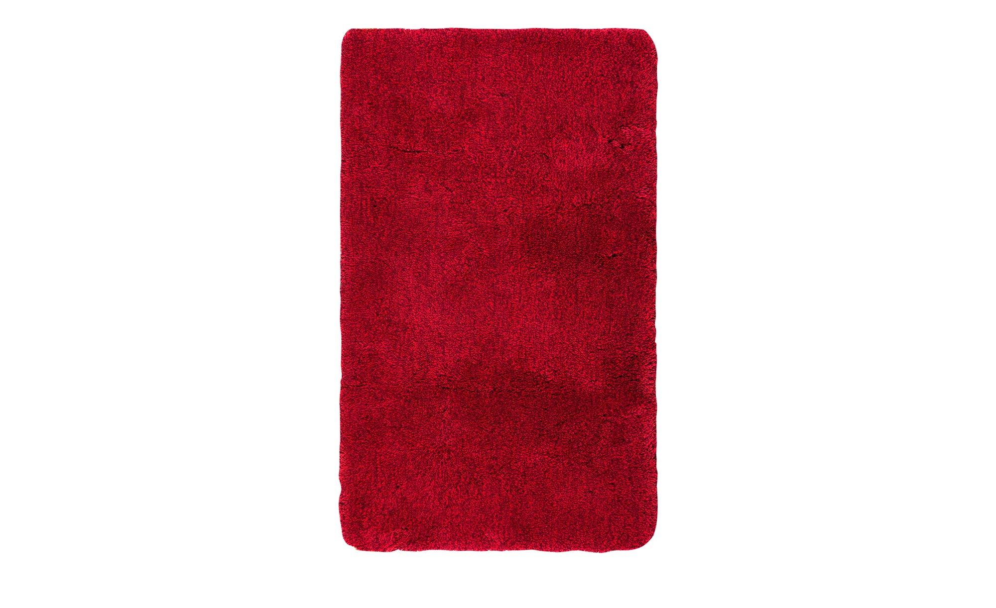 Kleine Wolke Badteppich  Relax ¦ rot ¦ 100% Polyacryl ¦ Maße (cm): B: 70 Badtextilien und Zubehör > Badematten & Badvorleger - Höffner