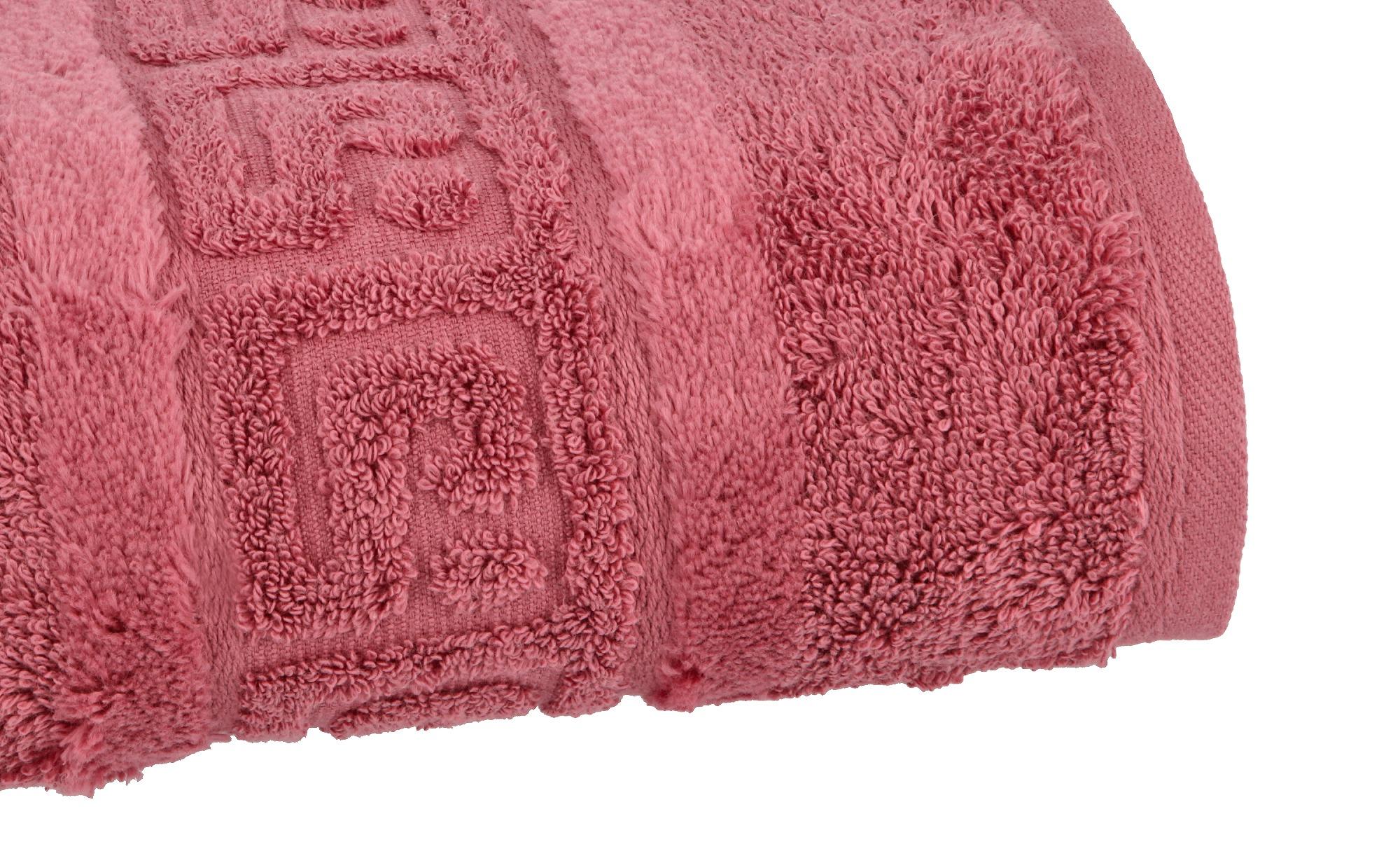CaWö Handtuch  1001 ¦ rosa/pink ¦ 100% Baumwolle ¦ Maße (cm): B: 50 Badtextilien und Zubehör > Handtücher - Höffner