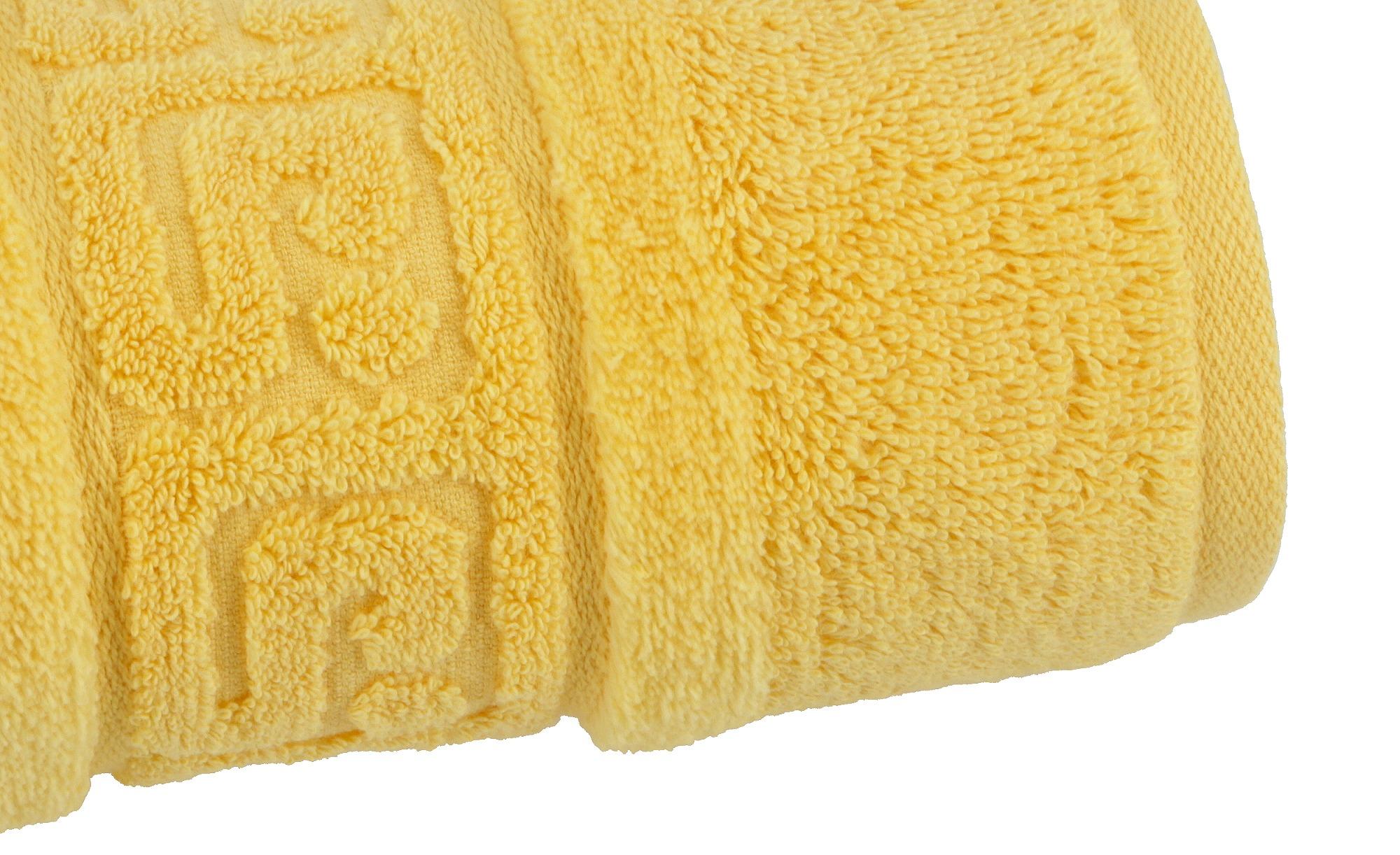 CaWö Handtuch  1001 ¦ gelb ¦ 100% Baumwolle ¦ Maße (cm): B: 50 Badtextilien und Zubehör > Handtücher & Badetücher > Handtücher - Höffner