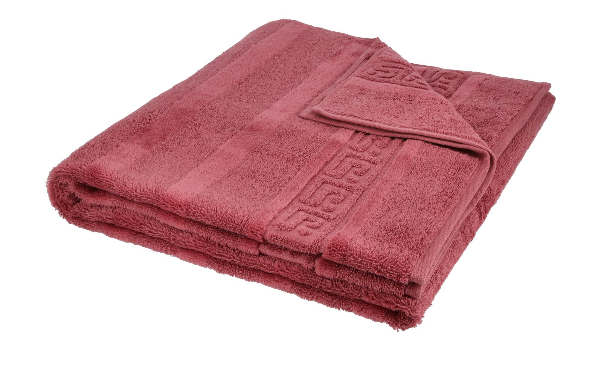 CaWö Duschuch  1001 ¦ rosa/pink ¦ 100% Baumwolle ¦ Maße (cm): B: 80 Badtextilien und Zubehör > Handtücher & Badetücher > Duschtücher - Höffner