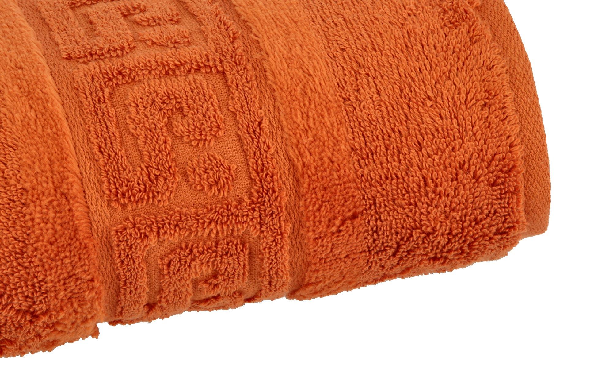 CaWö Duschtuch  1001 ¦ orange ¦ 100% Baumwolle ¦ Maße (cm): B: 80 Badtextilien und Zubehör > Handtücher & Badetücher > Duschtücher - Höffner