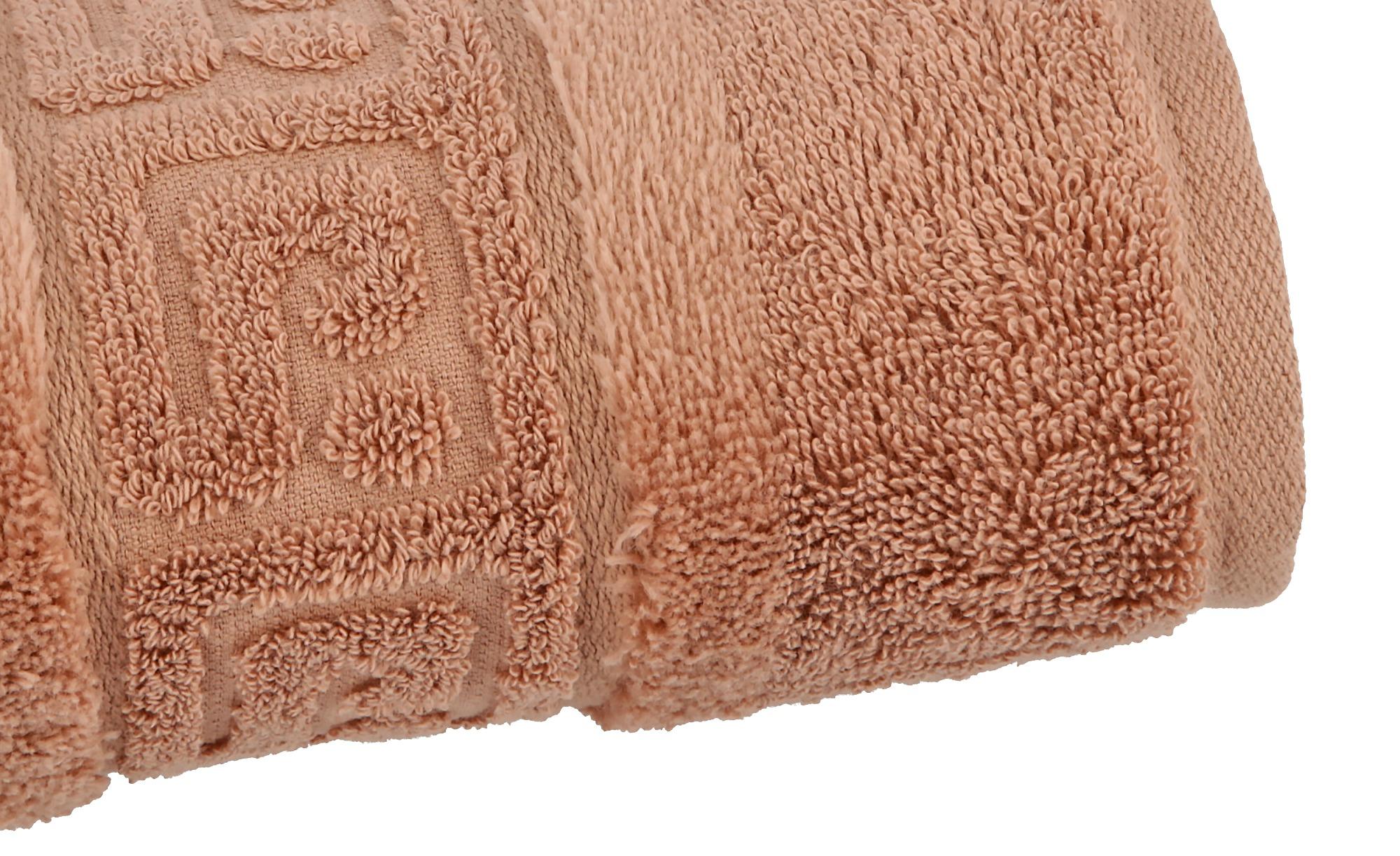 CaWö Duschtuch  1001 ¦ braun ¦ 100% Baumwolle ¦ Maße (cm): B: 80 Badtextilien und Zubehör > Handtücher & Badetücher > Duschtücher - Höffner