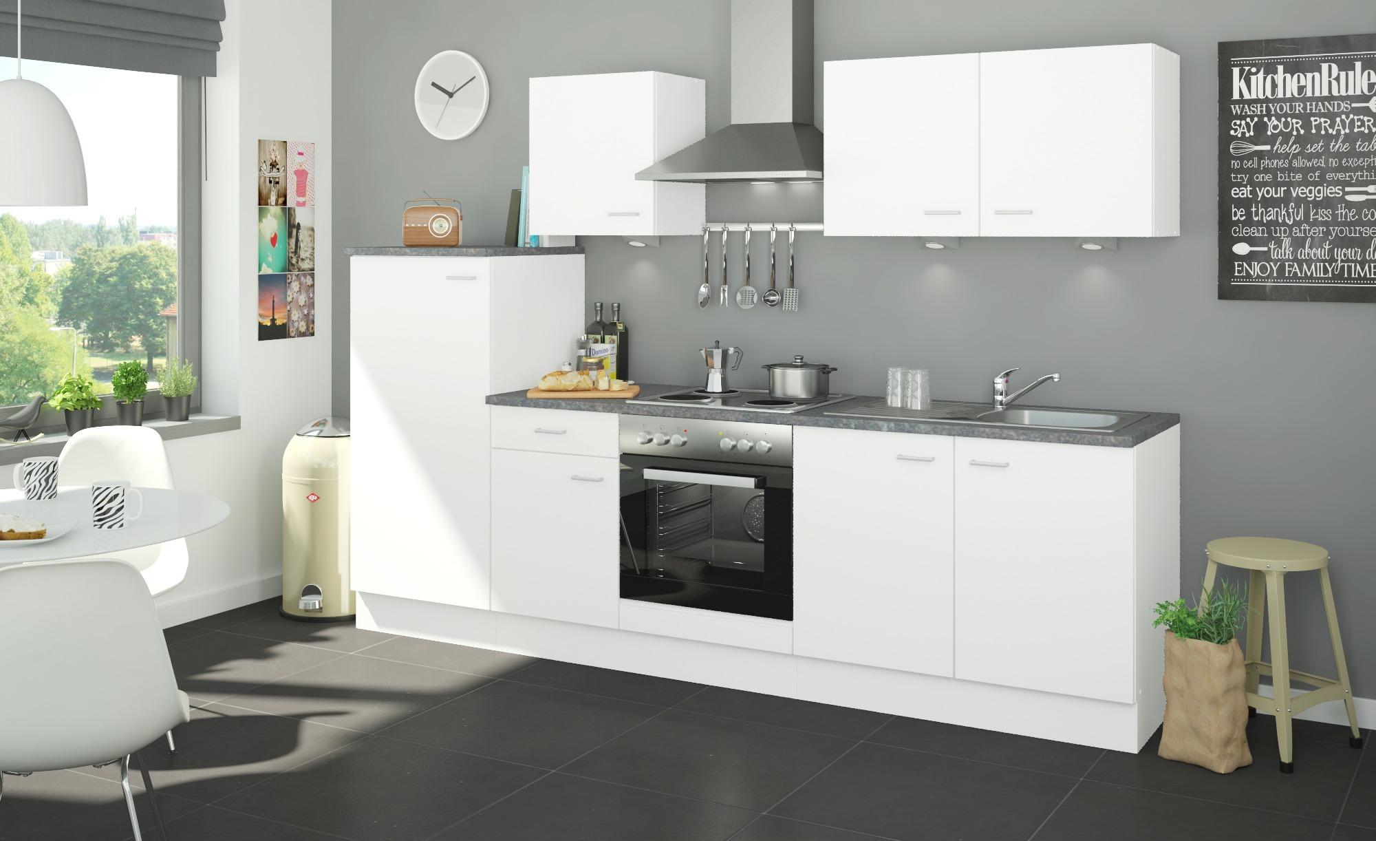 Uno Küchenzeile Ohne Elektrogeräte Kiel Möbel Höffner