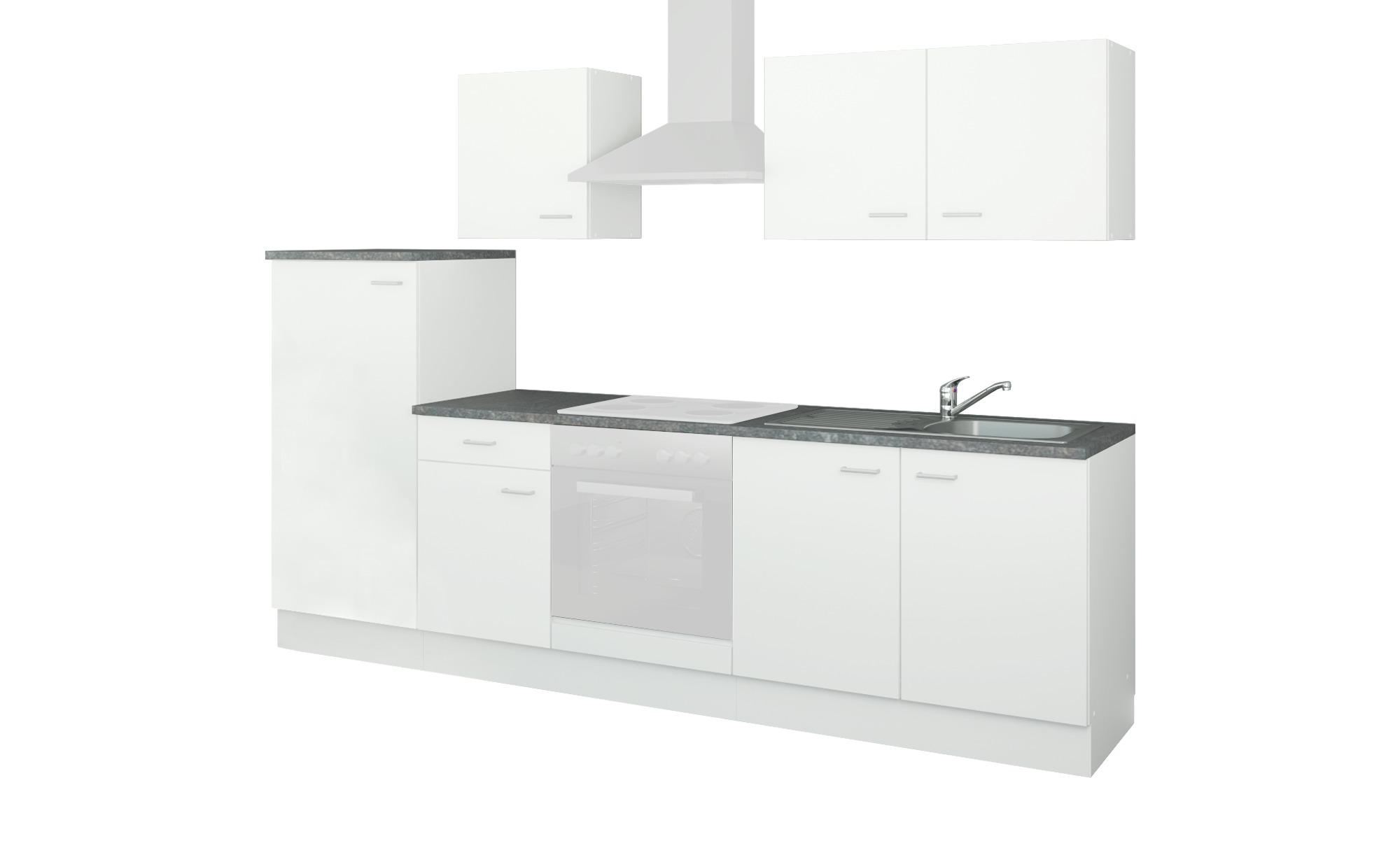 uno Küchenzeile ohne Elektrogeräte Kiel, gefunden bei Möbel Höffner
