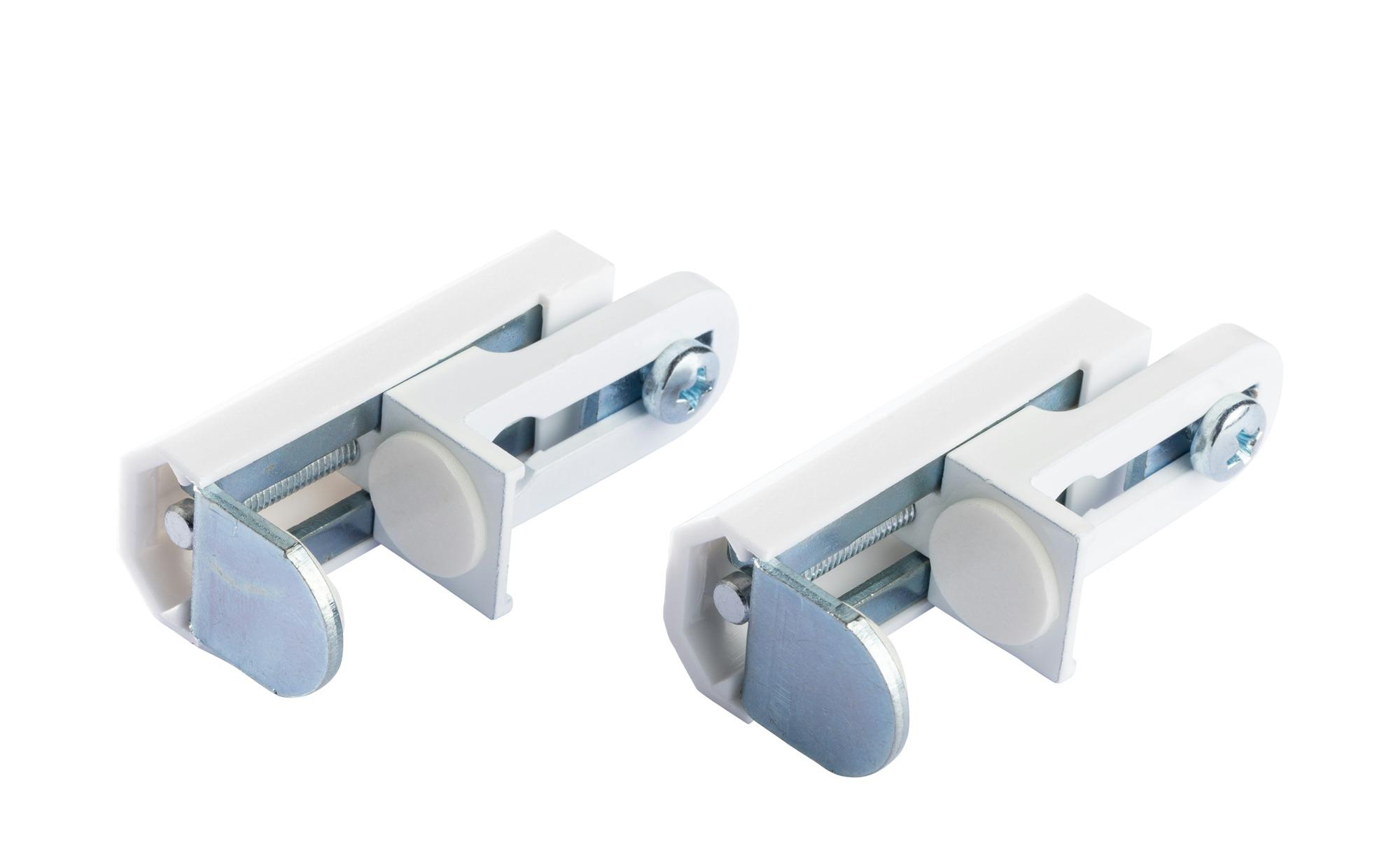 Klemmträger für Doppelrollo / Faltstore ¦ Kunststoff Gardinen & Vorhänge > Rollos & Sonnenschutz > Rollo Zubehör - Höffner