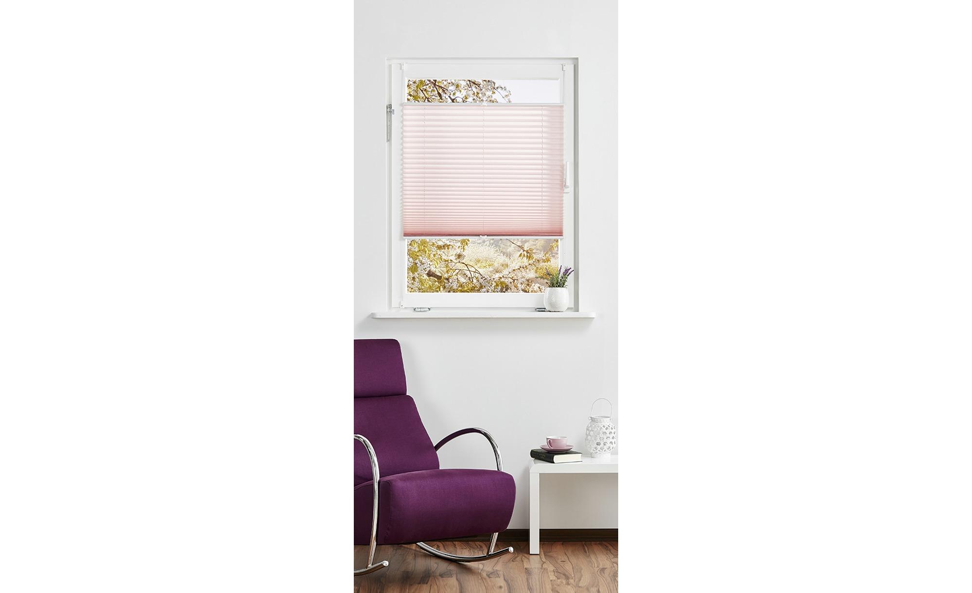 for friends Klemmfix-Plissee ¦ rosa/pink ¦ Polyester ¦ Maße (cm): B: 80 Gardinen & Vorhänge > Rollos & Sonnenschutz > Plissees - Höffner