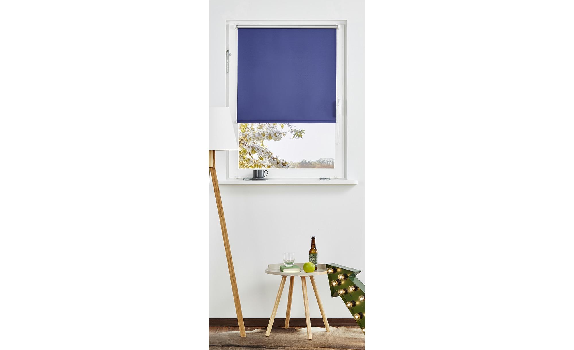 Rollo Klemmfix ¦ blau ¦ Polyester ¦ Maße (cm): B: 75 Gardinen & Vorhänge > Rollos & Sonnenschutz > Rollos - Höffner