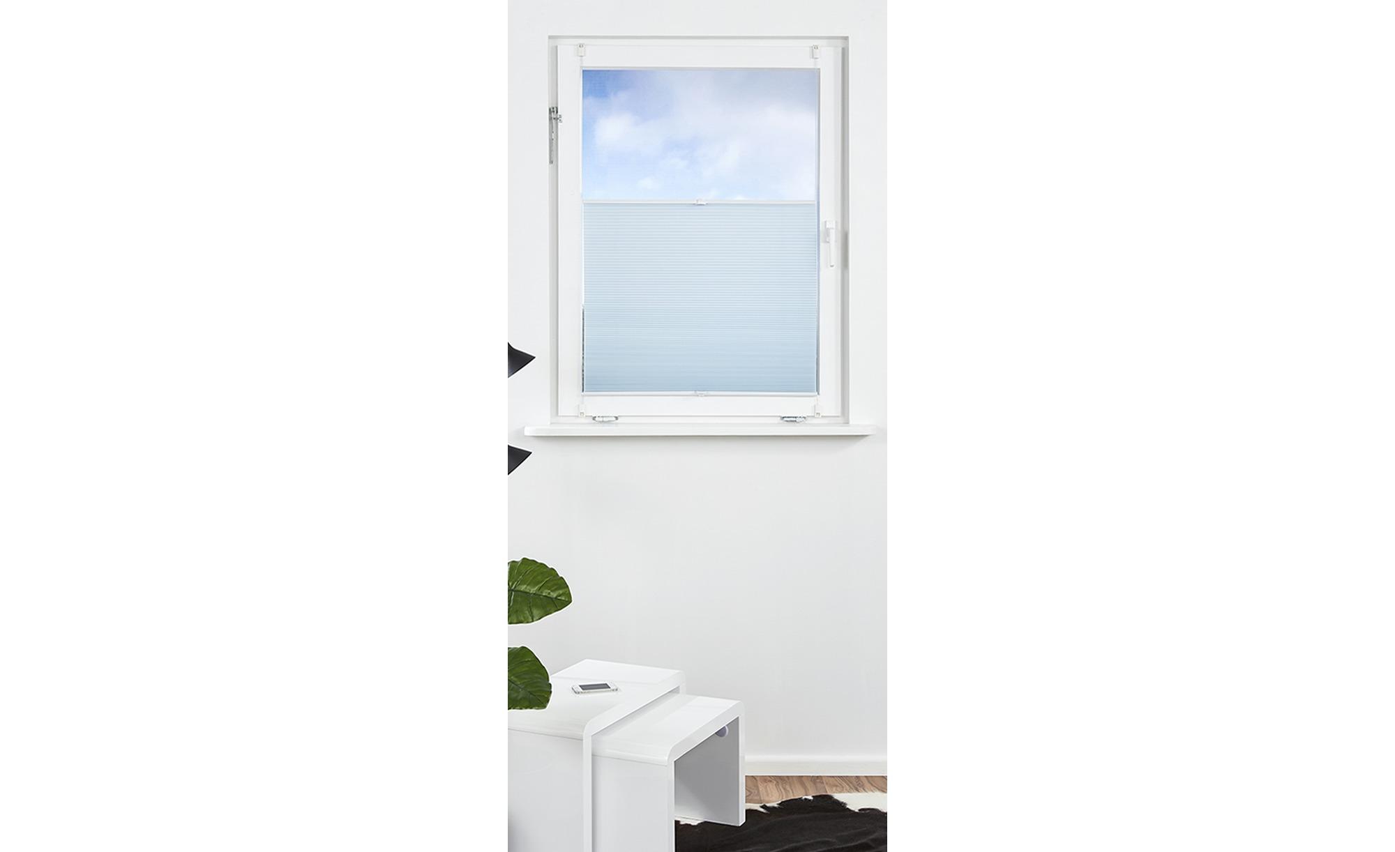 KHG Wabenplissee ¦ blau ¦ 100% Polyester ¦ Maße (cm): B: 90 Gardinen & Vorhänge > Rollos & Sonnenschutz > Plissees - Höffner