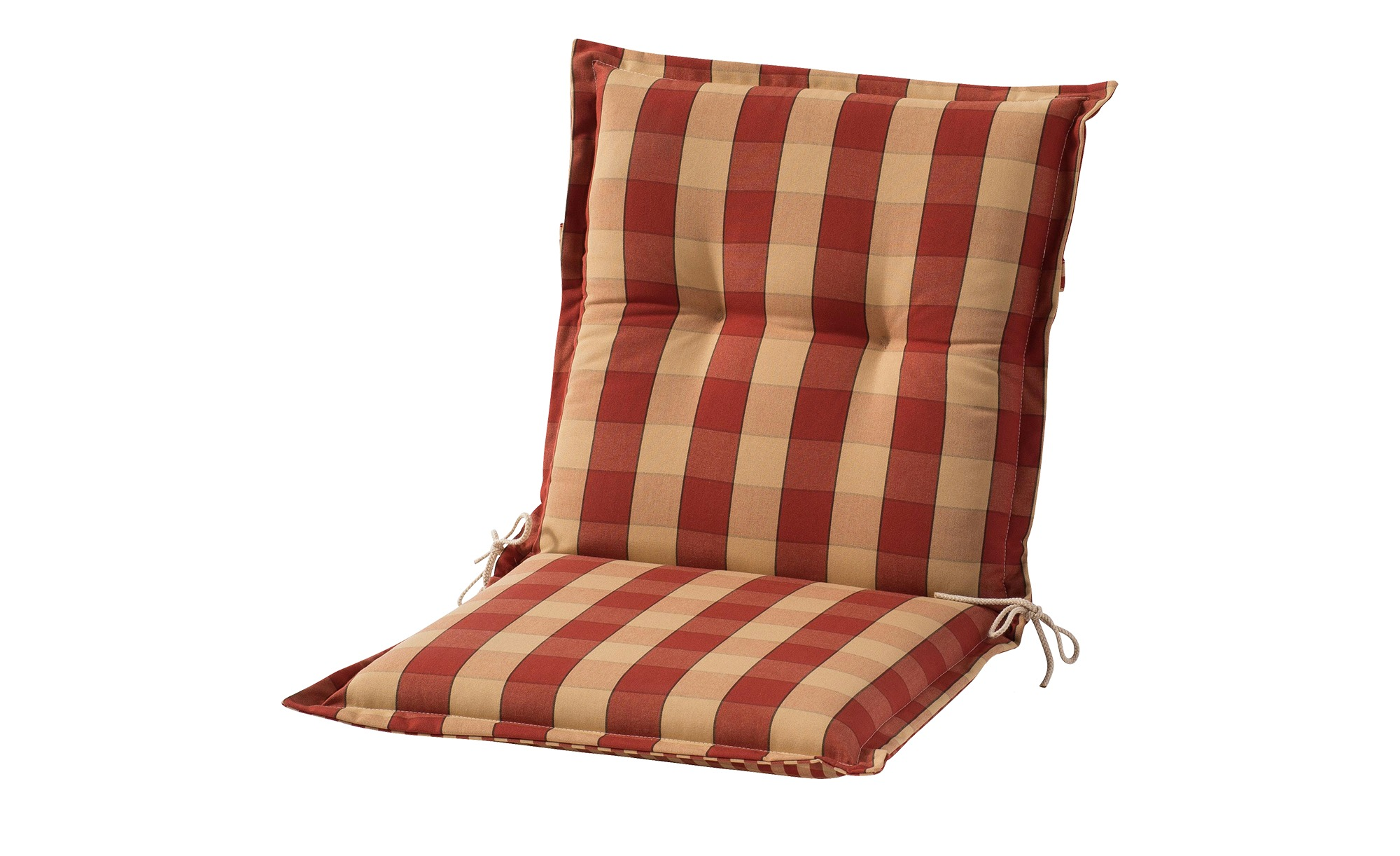 Sesselauflage nieder  Kent rot ¦ rot ¦ Maße (cm): B: 50 H: 9 Garten > Auflagen & Kissen > Niederlehner-Auflagen - Höffner