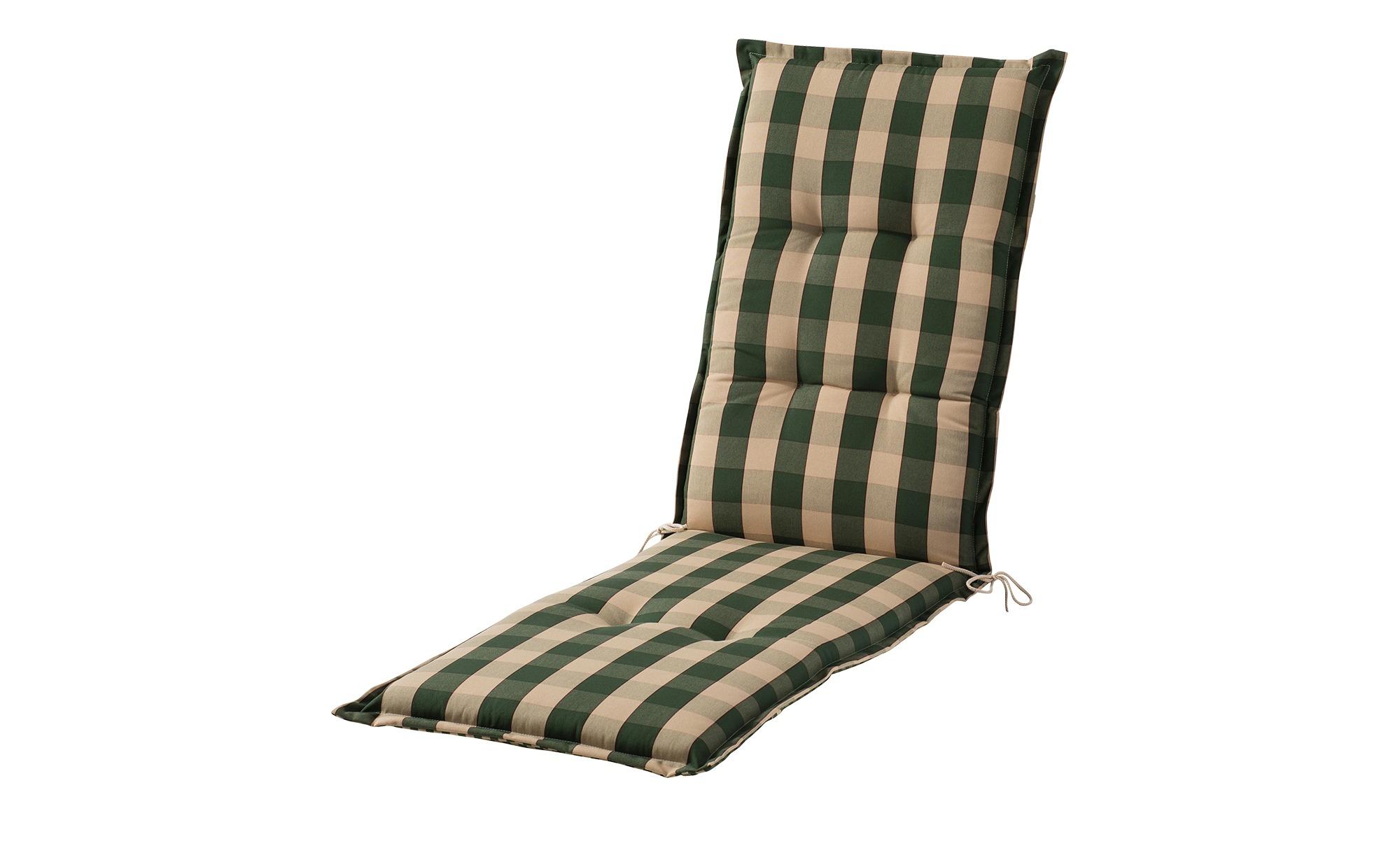Auflage  Kent grün ¦ grün ¦ Maße (cm): B: 50 H: 8 Garten > Auflagen & Kissen > Sonstige Sitzkissen - Höffner