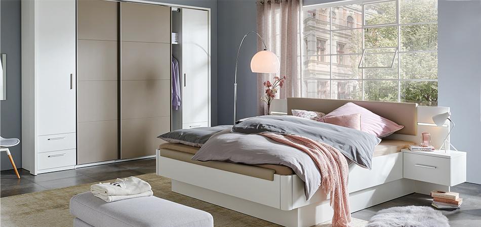 Miami Elegant Designtes Schlafzimmer Bei Mobel Hoffner