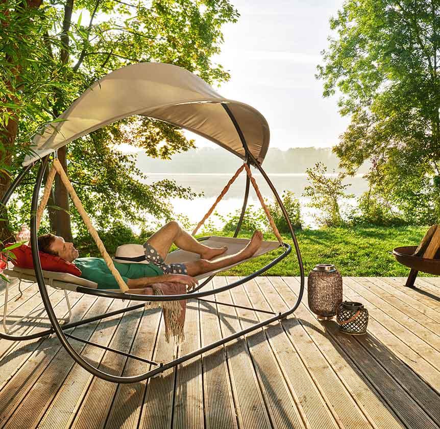 West Elm Sommer Garten Lounge Mobel