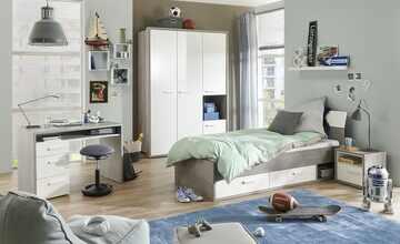 Jugendzimmer, 6-teilig  Milow