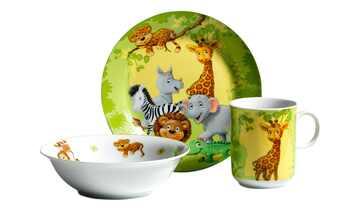 Ritzenhoff & Breker Kindergeschirrset, 3-teilig  Dschungeltiere