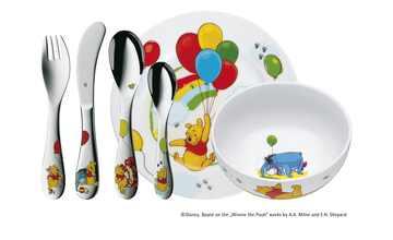 WMF Kindergeschirr, 6-teilig  Winnie the Pooh