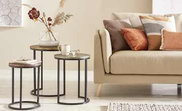 Vase mit Steinboden