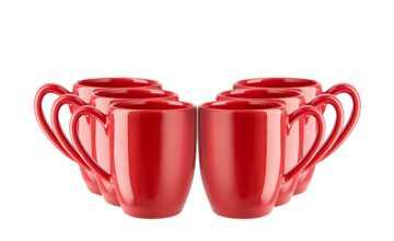 Kaffeebecher, 6-teiliges Set  KHG