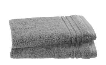 Gästetuch (30 x 50cm), 2er-Set Anthrazit  Soft Cotton